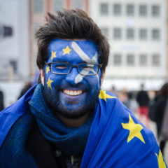 Going out onto the streets for Europe – a conversation with a committed European