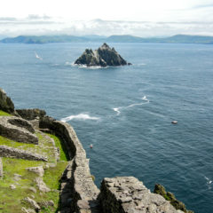 Suspended between Ireland's legendary past and Star Wars future